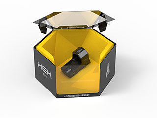 HEX Wasp in packaging with top of box open